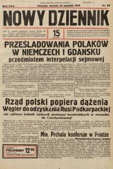 Nowy Dziennik. 1939, nr24