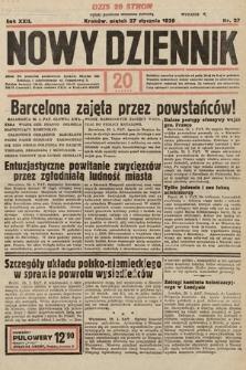 Nowy Dziennik. 1939, nr27