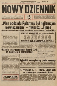 Nowy Dziennik. 1939, nr38