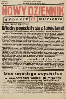 Nowy Dziennik (wydanie wieczorne). 1939, nr39