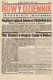 Nowy Dziennik (wydanie wieczorne). 1939, nr61