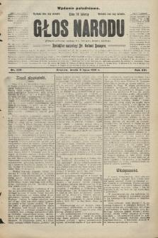 Głos Narodu : dziennik polityczny, założony w r. 1893 przez Józefa Rogosza (wydanie południowe). 1908, nr306
