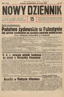 Nowy Dziennik. 1939, nr72