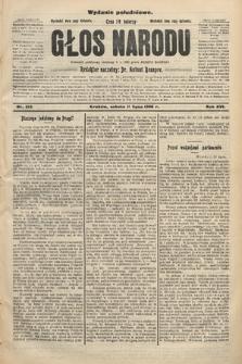 Głos Narodu : dziennik polityczny, założony w r. 1893 przez Józefa Rogosza (wydanie południowe). 1908, nr312