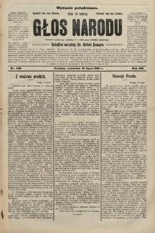 Głos Narodu : dziennik polityczny, założony w r. 1893 przez Józefa Rogosza (wydanie południowe). 1908, nr320