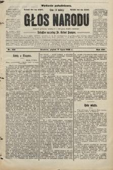Głos Narodu : dziennik polityczny, założony w r. 1893 przez Józefa Rogosza (wydanie południowe). 1908, nr322