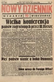 Nowy Dziennik (wydanie wieczorne). 1939, nr79