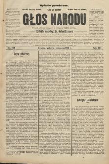 Głos Narodu : dziennik polityczny, założony w r. 1893 przez Józefa Rogosza (wydanie południowe). 1908, nr348