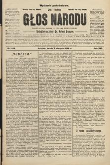 Głos Narodu : dziennik polityczny, założony w r. 1893 przez Józefa Rogosza (wydanie południowe). 1908, nr354