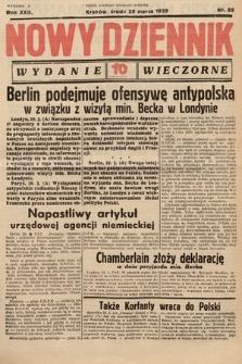 Nowy Dziennik (wydanie wieczorne). 1939, nr88