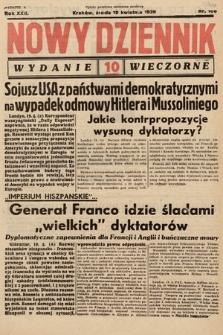 Nowy Dziennik (wydanie wieczorne). 1939, nr106
