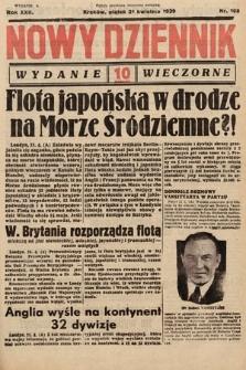 Nowy Dziennik (wydanie wieczorne). 1939, nr108