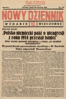 Nowy Dziennik (wydanie wieczorne). 1939, nr115