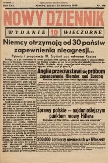 Nowy Dziennik (wydanie wieczorne). 1939, nr116