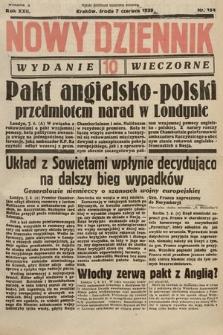 Nowy Dziennik (wydanie wieczorne). 1939, nr154