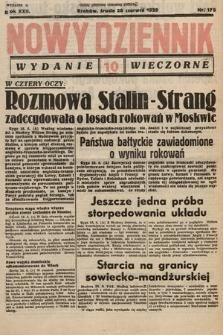 Nowy Dziennik (wydanie wieczorne). 1939, nr175