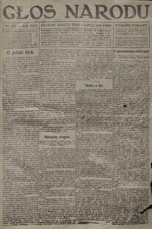Głos Narodu (wydanie poranne). 1916, nr328