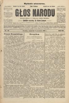 Głos Narodu : dziennik założony w r. 1893 przez Józefa Rogosza (wydanie wieczorne). 1908, nr401