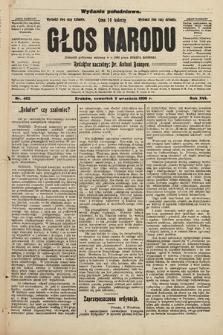 Głos Narodu : dziennik założony w r. 1893 przez Józefa Rogosza (wydanie południowe). 1908, nr402