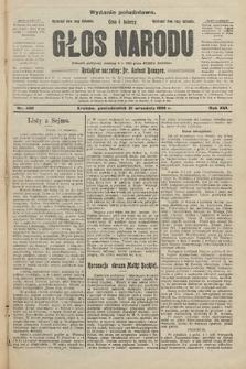 Głos Narodu : dziennik założony w r. 1893 przez Józefa Rogosza (wydanie południowe). 1908, nr430
