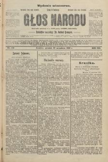 Głos Narodu : dziennik założony w r. 1893 przez Józefa Rogosza (wydanie wieczorne). 1908, nr431