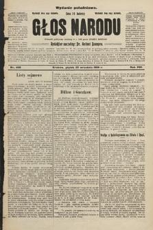 Głos Narodu : dziennik założony w r. 1893 przez Józefa Rogosza (wydanie południowe). 1908, nr438