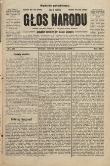 Głos Narodu : dziennik założony w r. 1893 przez Józefa Rogosza (wydanie południowe). 1908, nr444