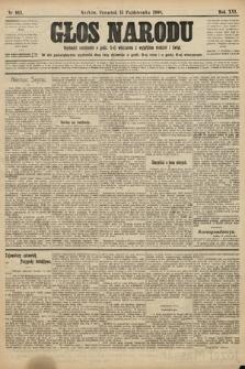 Głos Narodu. 1908, nr463
