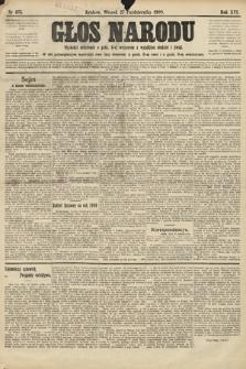 Głos Narodu. 1908, nr475