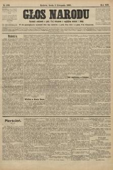 Głos Narodu. 1908, nr483