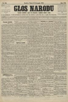 Głos Narodu. 1908, nr492