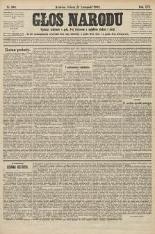 Głos Narodu. 1908, nr500