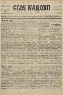 Głos Narodu. 1908, nr510