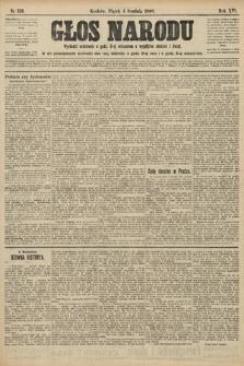 Głos Narodu. 1908, nr513