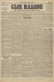 Głos Narodu. 1908, nr520