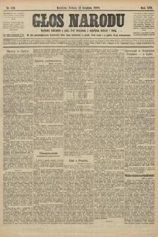 Głos Narodu. 1908, nr521