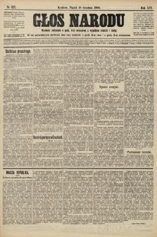 Głos Narodu. 1908, nr527