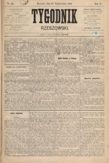 Tygodnik Rzeszowski. R. 1 [2], 1886, nr69