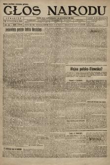 Głos Narodu. 1920, nr20