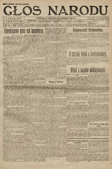 Głos Narodu. 1920, nr80