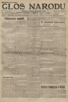 Głos Narodu. 1920, nr81