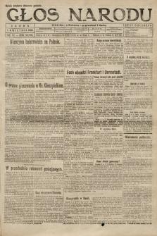 Głos Narodu. 1920, nr84