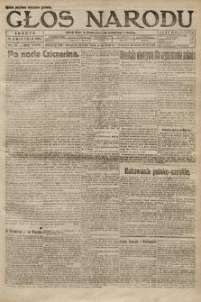 Głos Narodu. 1920, nr87