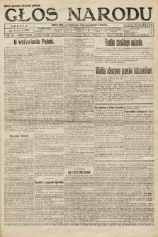Głos Narodu. 1920, nr121