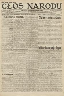 Głos Narodu. 1920, nr134