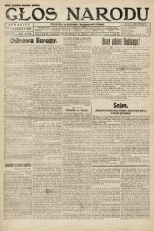 Głos Narodu. 1920, nr142