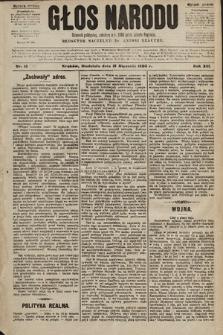 Głos Narodu : dziennik polityczny, założony w r. 1893 przez Józefa Rogosza (wydanie poranne). 1905, nr15