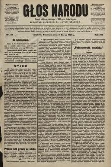 Głos Narodu : dziennik polityczny, założony w r. 1893 przez Józefa Rogosza (wydanie poranne). 1905, nr55 [i.e. 64]