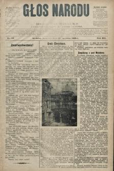 Głos Narodu : dziennik polityczny, założony w r. 1893 przez Józefa Rogosza (wydanie poranne). 1905, nr112