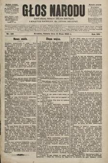 Głos Narodu : dziennik polityczny, założony w r. 1893 przez Józefa Rogosza (wydanie poranne). 1905, nr130